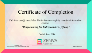 Zenva Academy diploma