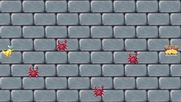 learn javascript by making a game screenshot