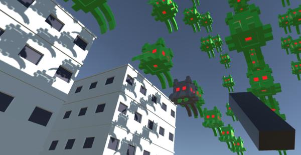Space Invaders VR