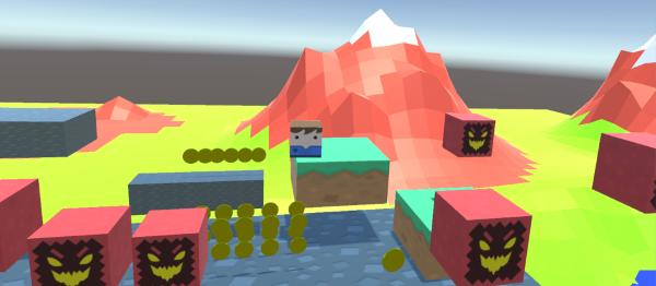 VR Platformer Game