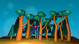 VR Projects - Night with Mosquitos Game
