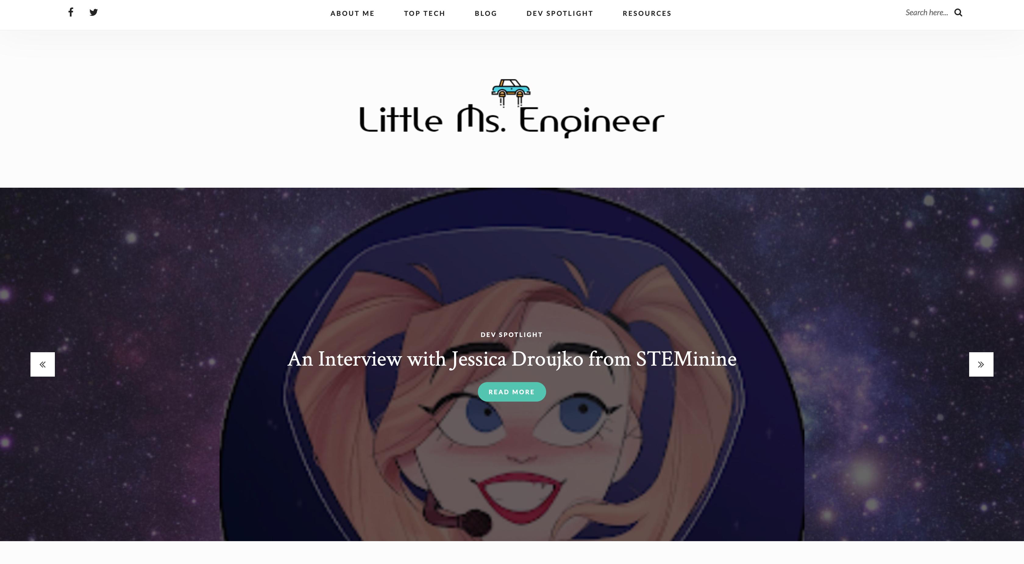 Little Ms. Engineer Screen 1