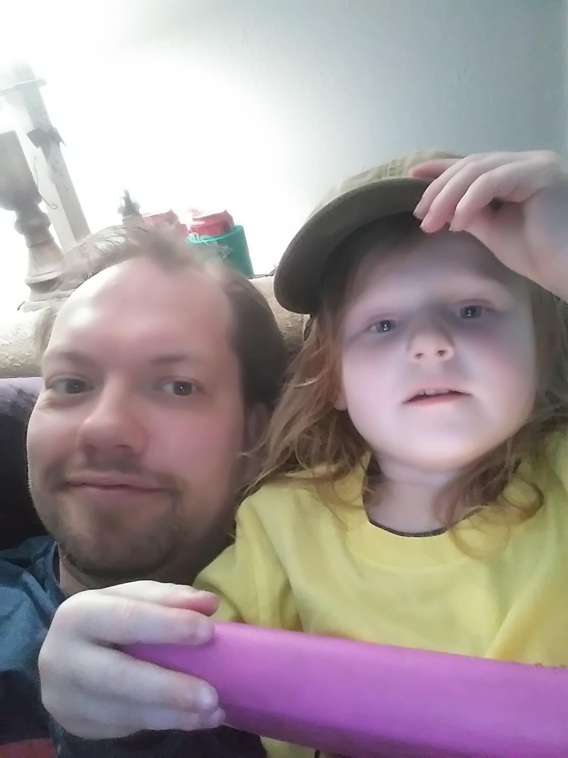 Dustin McMurry and Child