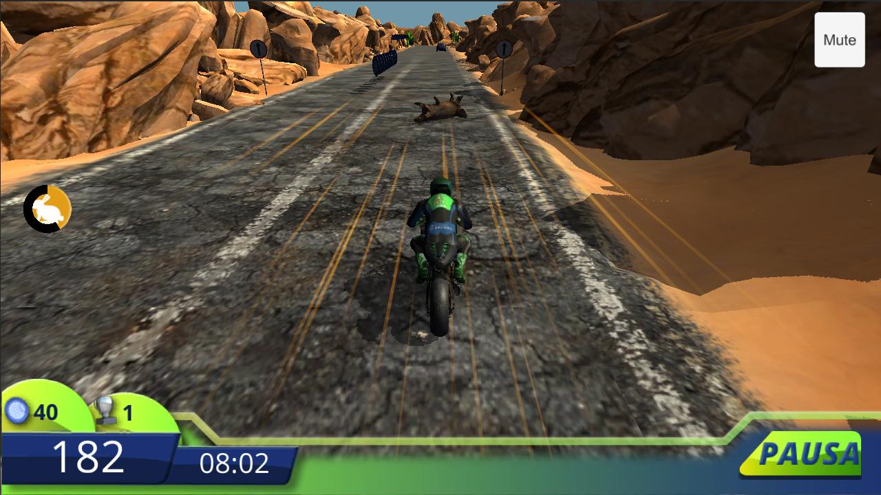 PolPosition screenshot of motorcycle