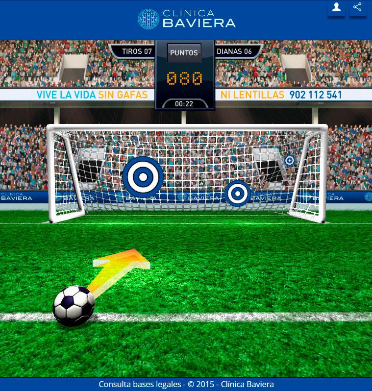 Beviera Kickoff screenshot of soccer ball