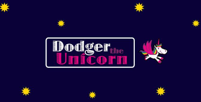 Dodger Unicorn logo screen
