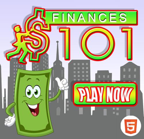 Finances 101 start screen by Ryan Mininger