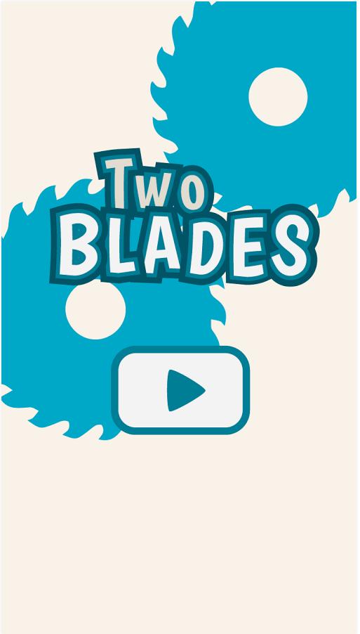 Two Blades start screen