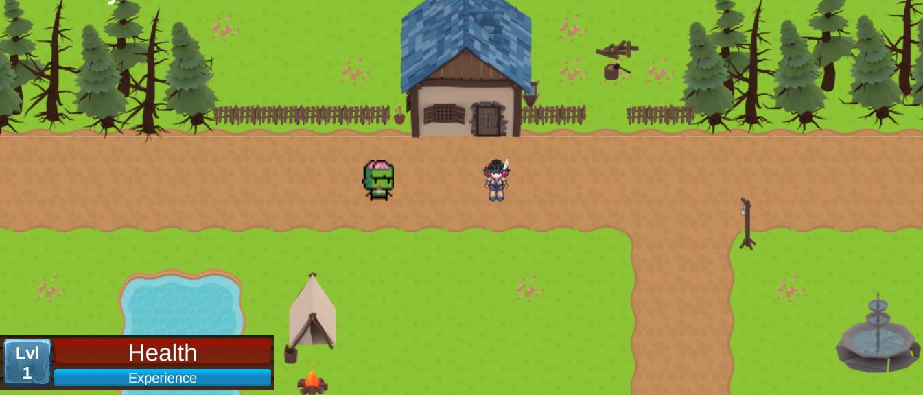 Andrea Cardenas-Roeder RPG game screenshot