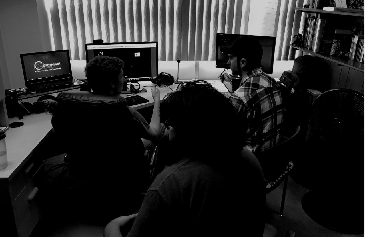 Continuum Studio employees working
