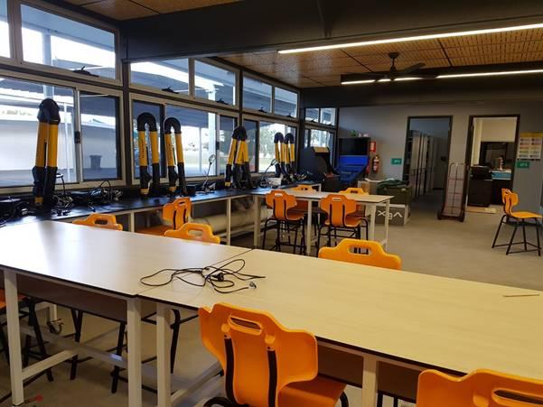 Peter Darcy school classroom
