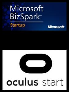 Microsoft BizSpark and Oculus Start