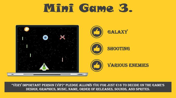 Mini Game 3 from Daniel Danielecki's Kickstarter