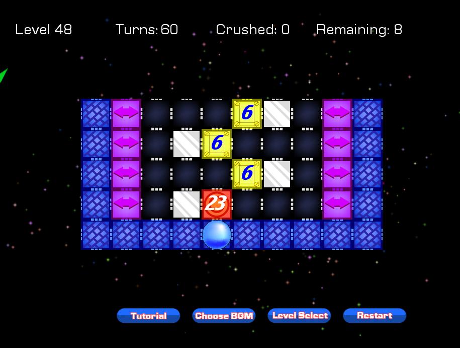 Screenshot of Tile Crusher