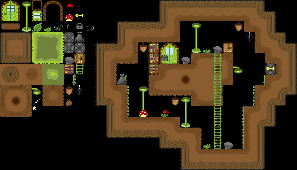 Level design for Das Volk der Molks